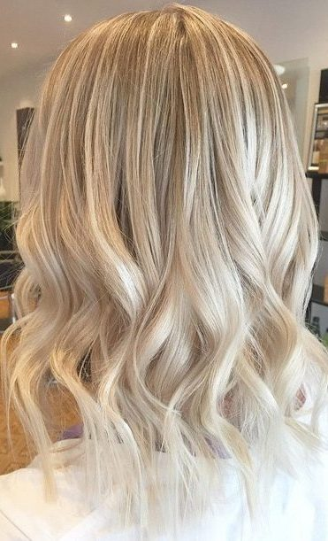 blonde ombre hair winter hair color idea