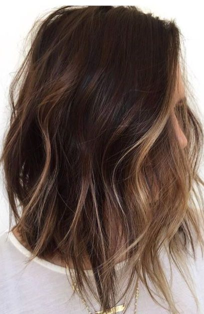 Long Bob With Subtle Highlights