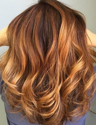 medium curly hairstyle for thick hair