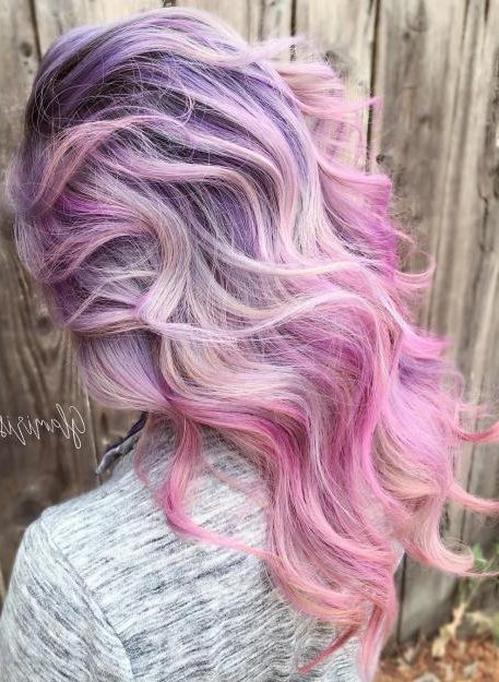 Pastel Purple To Pink Ombre