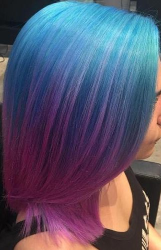 20 Purple And Blue Hair Ideas Actual Phrase Fashion