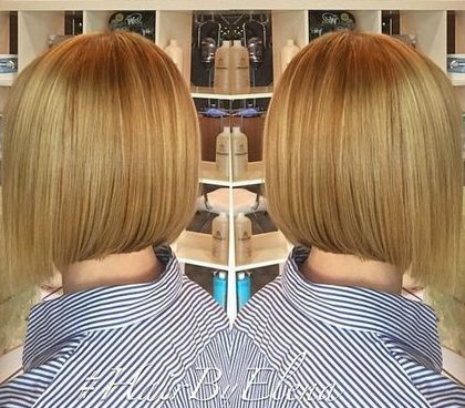 wheat blonde bob